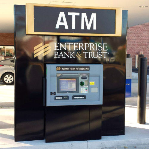 Atm Canopies And Enclosures Sign Dimensions