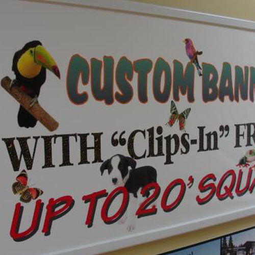 Banners And Billboard Wraps